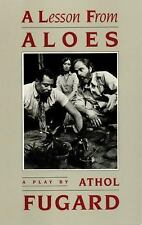 A LESSON FROM ALOES - FUGARD, ATHOL - NEW PAPERBACK BOOK