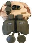 Steiner 10x50 Military-Marine Binoculars MM1050 + Premium Camo Carry Case