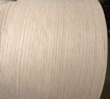 "Red Oak wood veneer edgebanding 6"" x 120"" with no adhesive 1/40th"" thickness"