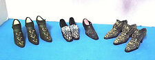 "Ceramic Shoe Decorative Ceramic Shoe Never Displayed Lot of 9 Shoes (@3 "" x 2"")"