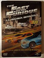 PELICULA DVD PACK TRILOGIA A TODO GAS EDICION METALICA