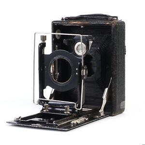 :Zeiss Ikon ICA Orix 209 9x12 Folding Plate Camera - Needs Love