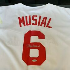 Stan Musial Signed St. Louis Cardinals Jersey With JSA COA