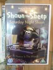 SHAUN THE SHEEP - Saturday Night Shaun DVD (2008) Region 2 8 Episodes Movies VGC