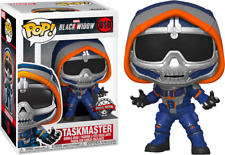 Marvel Blackwidow Taskmaster With Claws Special Edition Black Widow Funko POP
