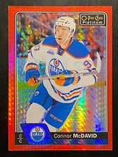 2016-17 O-Pee-Chee Platinum Red Prism #1 Connor McDavid EDMONTON OILERS 27/199