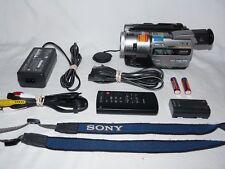 Sony DCR-TR7000 Digital8 HI8 8mm Video8 Camcorder Player Camera Video Transfer