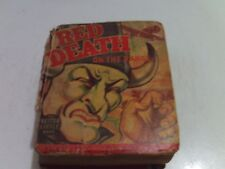 Vintage 1940 The Red Death on The Range by The Better Little Book