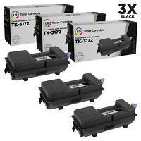 LD Compatible Kyocera TK-3172 (1T02T80US0) Black Toner 3-Pack for ECOSYS P3050dn