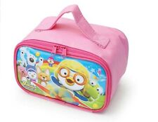 Animation PORORO Character  Cute Lunch Box-Pink