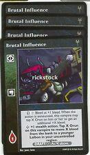 Brutal Influence x4 EK