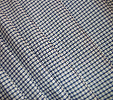 Blue Gingham Check VW CAMPERVAN Truck Curtains T2 T5 T25 Custom Made Fully LINED