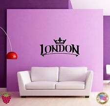 Wall Stickers Vinyl Decal  Cool Decor London England Europe Travel   (z1598)