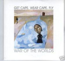 (D273) Get Cape Wear Cape Fly, War of the Worlds- DJ CD