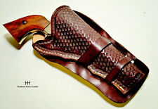 Western Style Loop Holster for a Single Action Revolver