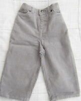 LITTLE WHITE COMPANY BABY BOYS GREY CORD TROUSERS  BNWOT 0-3 -6-9-12-18 MTHS