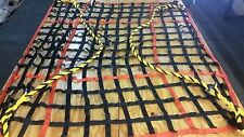 """Cargo Net 14' x 14' x 8"""" w/ (2) 1.25"""" Poly-Pro Rope Beckets and WLL 4,500 lbs"""