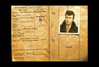 Framed Print - Beatles John Lennon Original Passport (Picture Poster Art ID Card