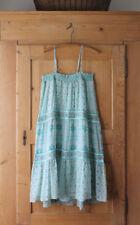 Calypso St. Barth~Blues/Greens~ 100% Silk Carstens Dress~ Sz M~NWT