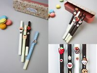 Cute Novelty Scented Black Gel Pens Fun Stationery Children Gift / Present Pen