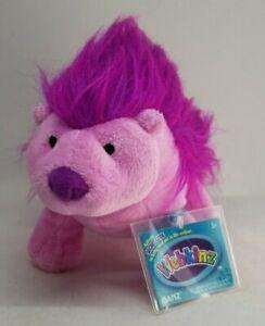 Ganz Webkinz Plum Porcupine stuffed animal plush toy sealed code tags purple