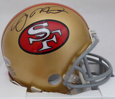 JOE MONTANA AUTOGRAPHED SIGNED SAN FRANCISCO 49ERS MINI HELMET BECKETT 135946