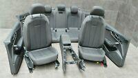 Audi A5 F5 Sportback Innenausstattung Stoff Sitze Sitz soul schwarz 1.640 km