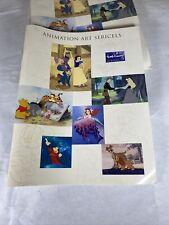 Walt Disney Animation Art Sericels 25 Page Catalogue Book Wdaa Sales Brochure