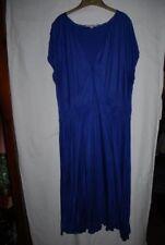 "boden pretty deep purple cap sleeve v neck dress 48"" L, 22 L"