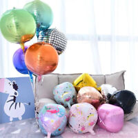 22inch Gradient Color Kids Birthday Party 4D Disco Balloon Decoration Supplies