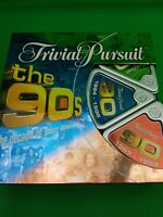 Trivial Pursuit The 90s The decade of your Life Edition Complete Parker games