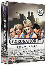 Coronation Street - 2000 - 2009 ---- 10-Disc DVD Boxset Containing 80 Episodes
