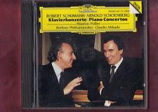 PIANO CON.SCHUMANN OP.54 SCHOENBERG OP 42 ABBADO,POLLINI CD APERTO NON SIGILLATO