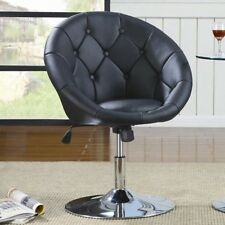 black vanity stool swivel chair seat bedroom furniture living room adjustable