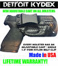 Custom Concealment IWB Kydex Holster All Gun Models & Lasers + Adjustable Cant