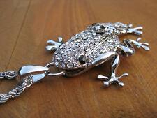 Markenlose Modeschmuck-Halsketten & -Anhänger mit Strass-Hauptstein für Damen