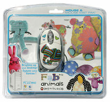 MAD CATZ PC FABric Animals Mouse And Mat IT IMPORT MAD CATZ