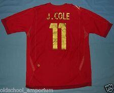 ENGLAND / 2006-2008 Away - J. COLE #11 - UMBRO - MENS Jersey / Shirt. Size: L