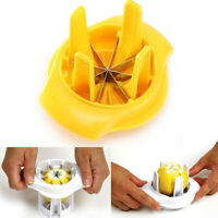 Lemon Lime Slicer Wedger Cutter Fruit Food Drinks Tool ABS + Stainless Steel