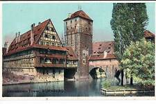SHURY'S PUBLICATIONS POSTCARD THE EXECUTIONERS TOWER NURNBERG PRE 1914
