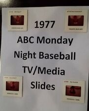 1977 ABC MONDAY NIGHT BASEBALL TV MEDIA SLIDES $2.99 ea - MANY DIFFERENT PLAYERS