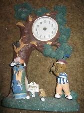 Used 3D Golf Clock (clock missing parts)