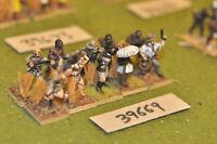 25mm colonial / explorers - darkest africa 10 figures - inf (39669)