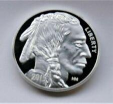 coin american Argent 1 Oz (environ 28.35 g) 999 silver Liberty Buffalo indien