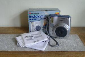 Instax Mini 10, Silver, Fujifilm Instant Camera