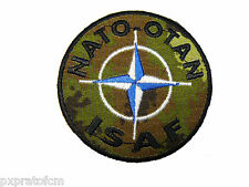 Patch Toppa Nato Otan Isaf Afghanistan vegetato