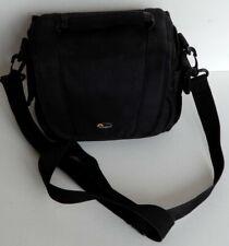 LOWEPRO Small Camera / Gadget Bag - Black - Shoulder Strap / Belt Loop / Handle