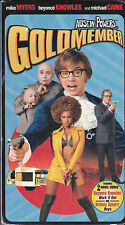 Austin Powers in Goldmember (VHS, 2002) Mike Myers, Beyonce Knowles - New Comedy