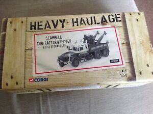 Corgi cc12306. Scammell, contractor wrecker, Eddie Stobart. New.
