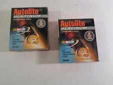 NEW NOS Set of 8 Autolite Platinum Spark Plugs AP666